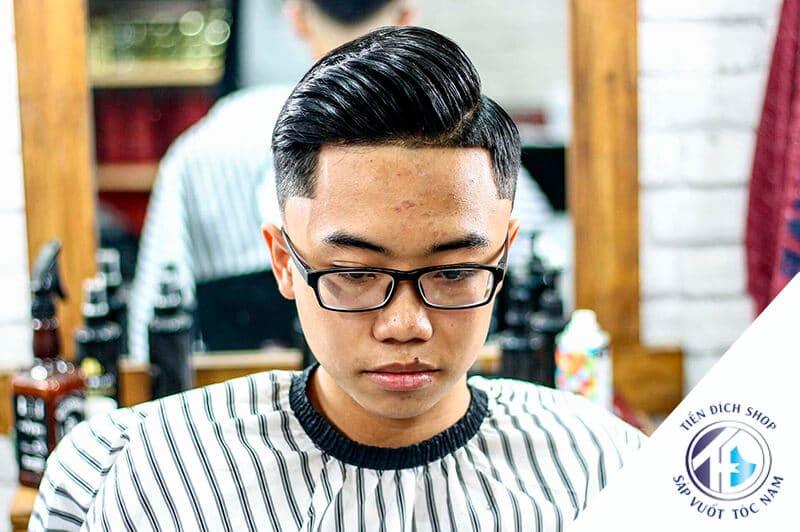 tóc nam đẹp side part