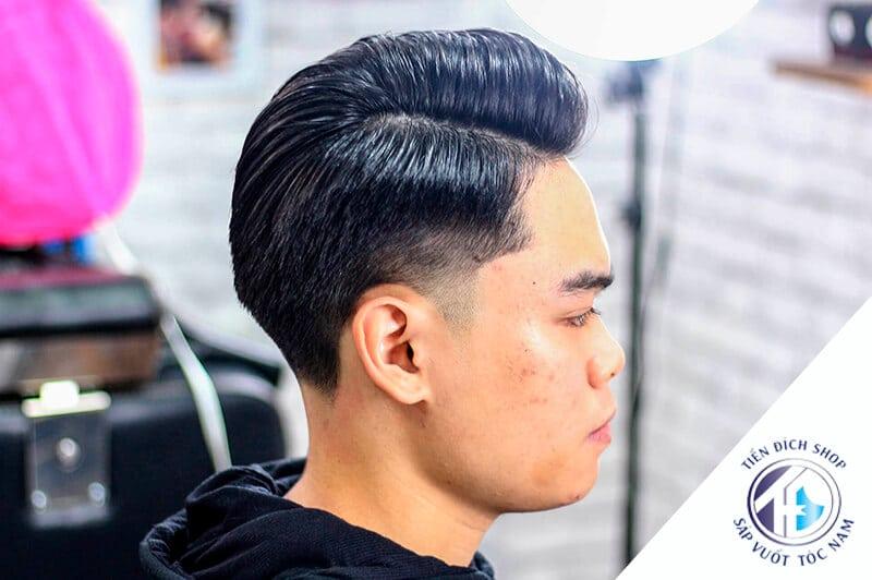 kiểu tóc nam Side Part