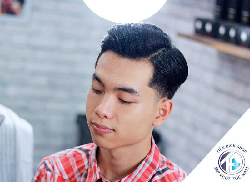 tóc kiểu Side Part 2021