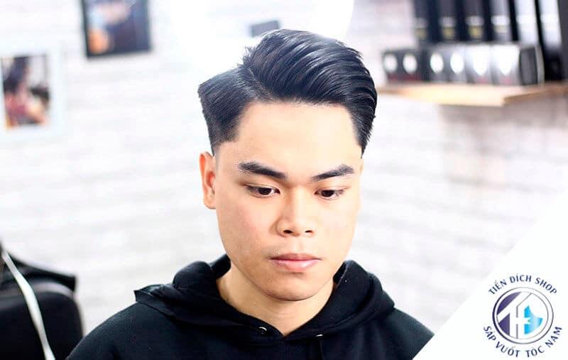 kiểu tóc Pompadour 2021