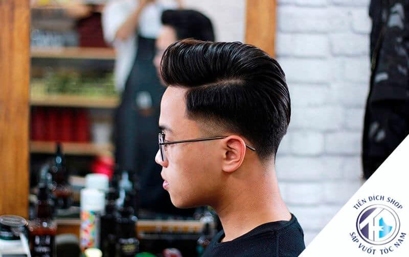 tóc nam đẹp Pompadour