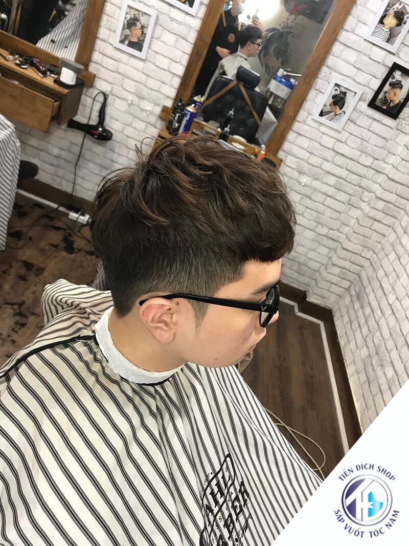 tóc nam đẹp ngắn 2021
