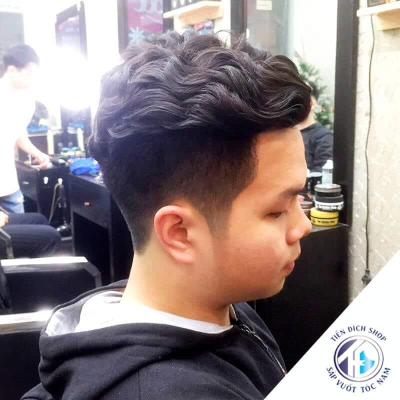 tóc nam đẹp uốn xoăn