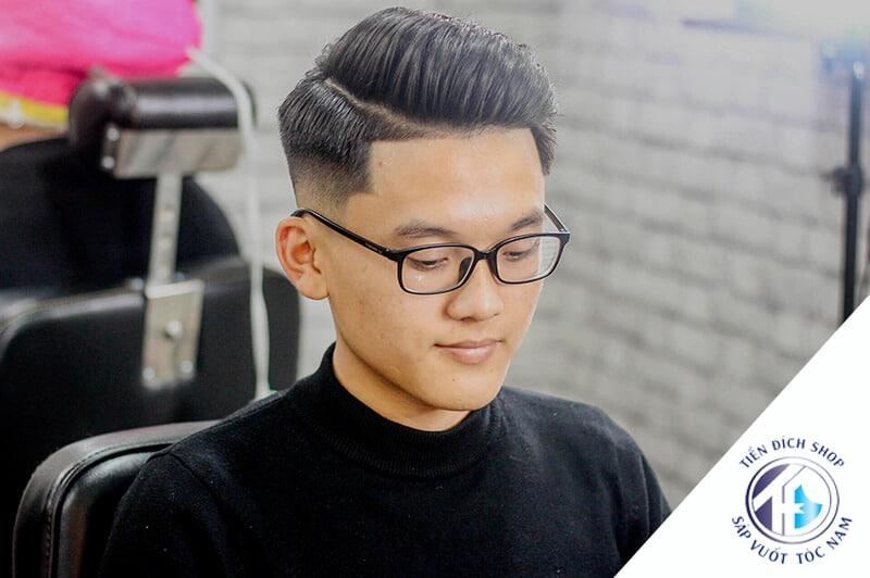 Kiểu tóc nam đẹp cho mặt dài