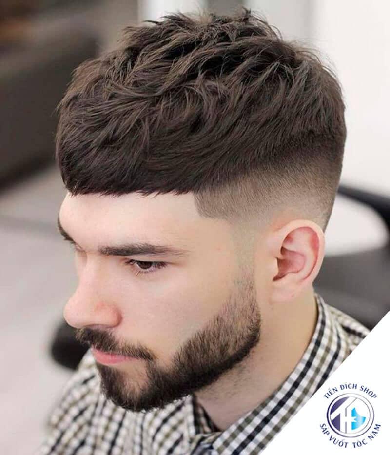 Kiểu tóc nam Textured Crop 2021