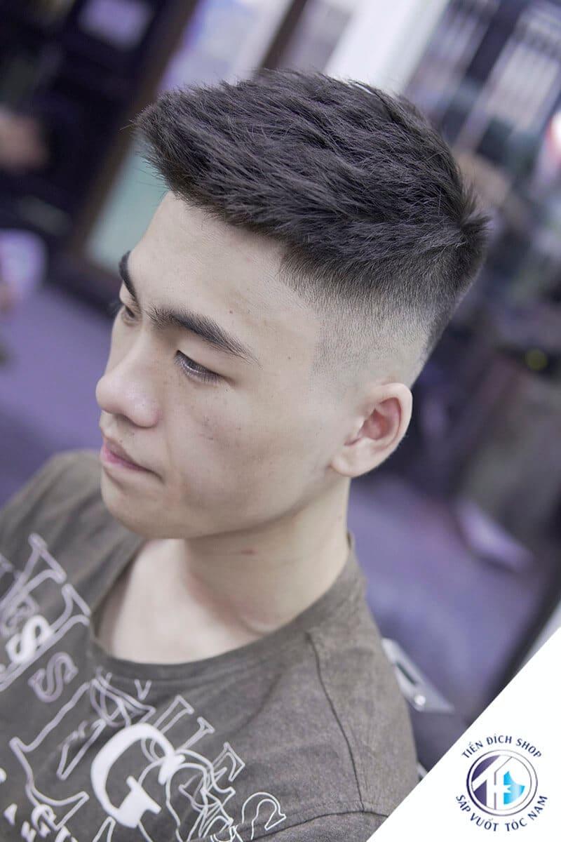 tóc nam đẹp Textured Crop 2021