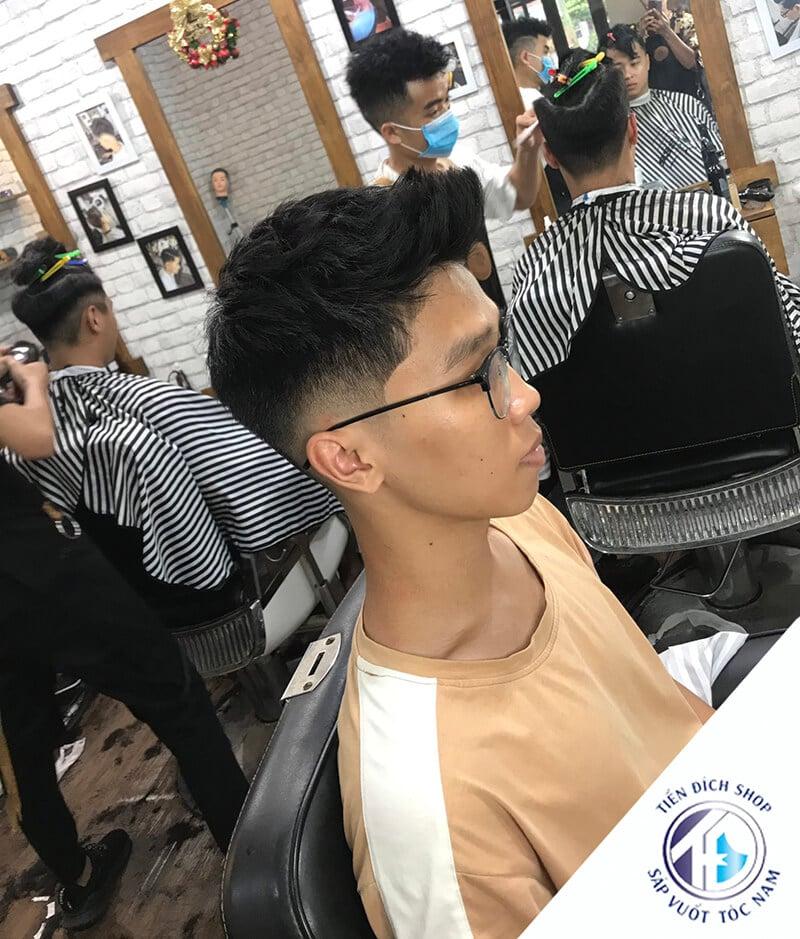 tóc nam đẹp Hàn Quốc