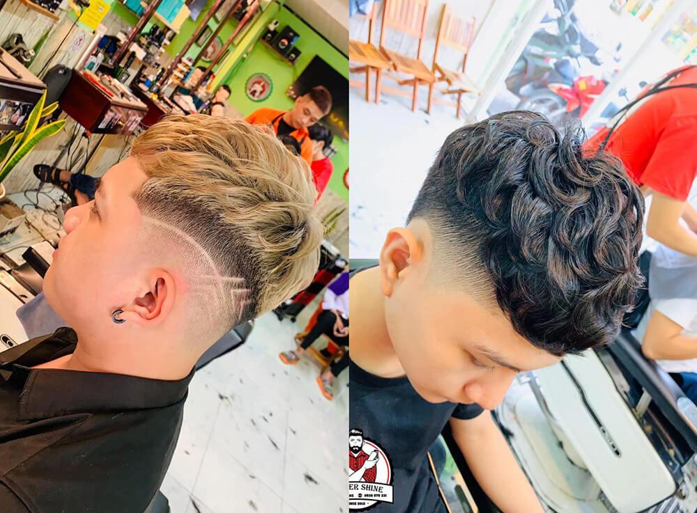 tóc uốn sâu Hàn Quốc