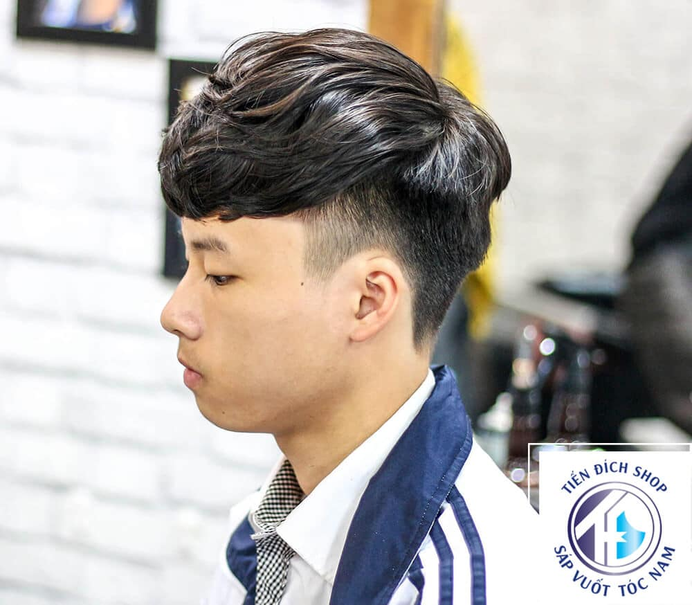 Kiểu tóc nam uốn xoăn Gợn Sóng
