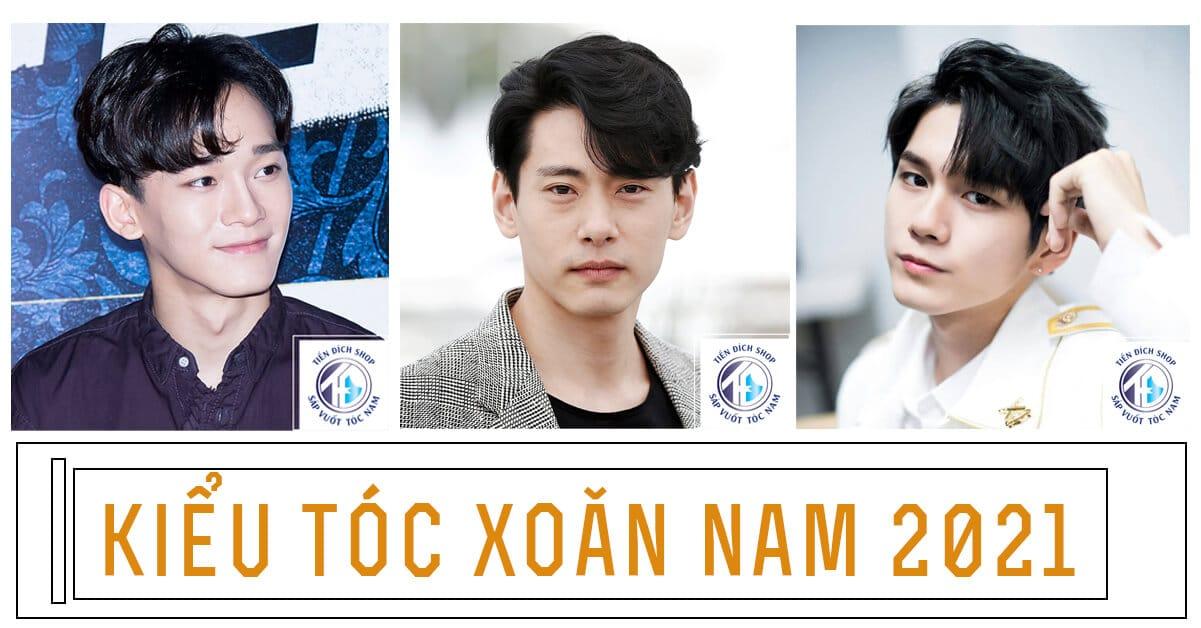 TOP Tóc xoăn nam 2021 [Phồng & Giữ nếp] phong cách bảnh bao & Tinh tế