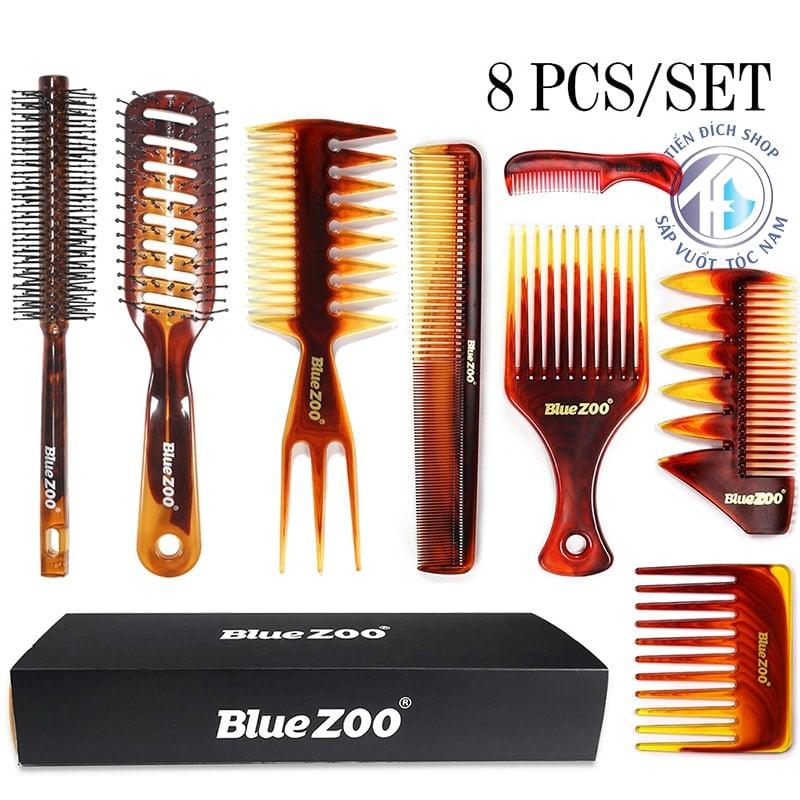 Bộ lược tạo kiểu tóc Blue Zoo