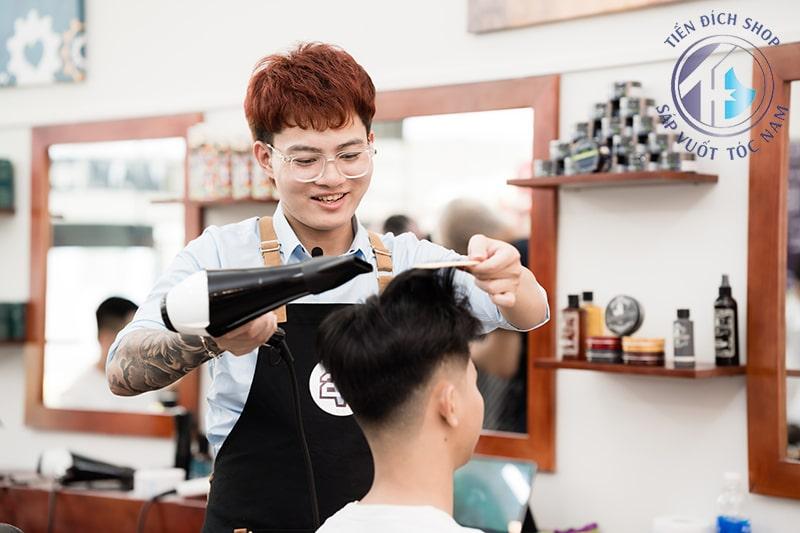 cắt tóc nam đẹp ở Hà Nội