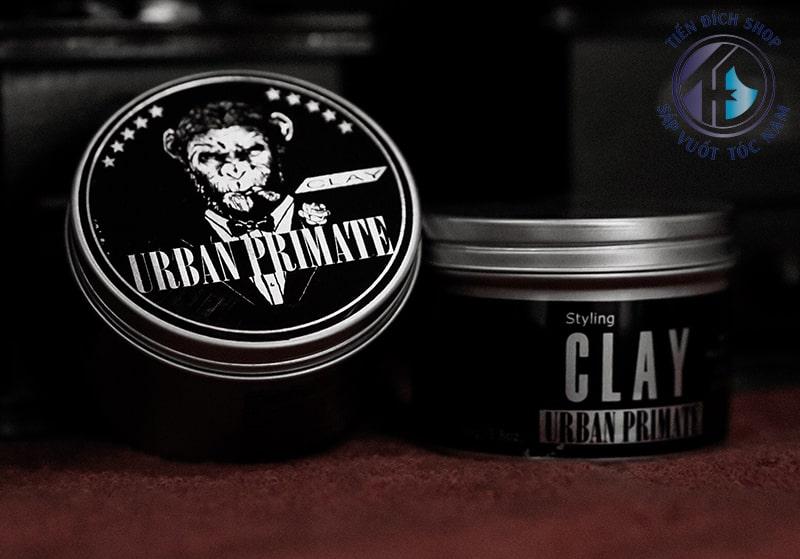 Review sáp vuốt tóc Urban Primate Clay thái lan