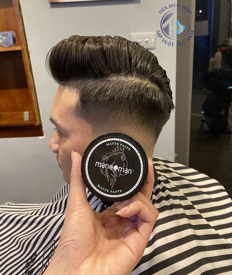 sáp vuốt tóc matte paste