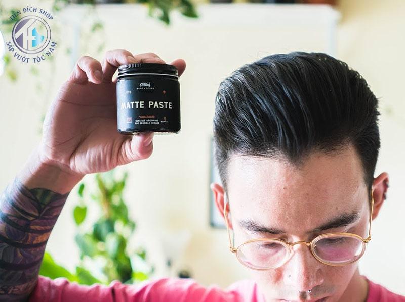 sáp vuốt tóc dạng Matte Paste