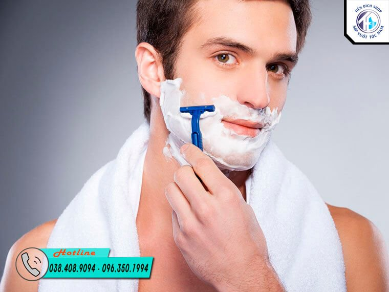 kem cạo râu dành cho da nhạy cảm