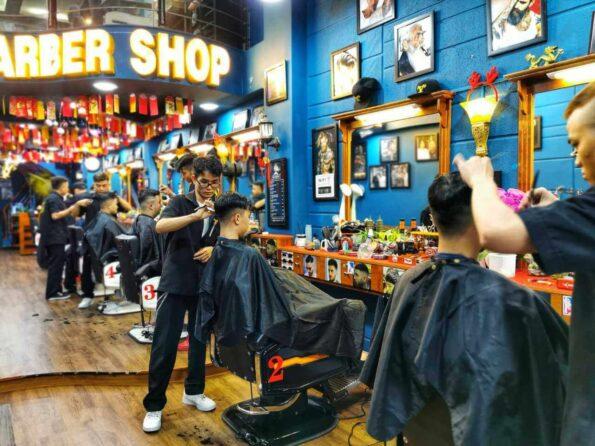 cắt tóc nam barber