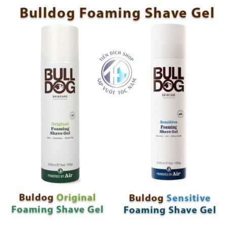 Bulldog Foaming Shave Gel