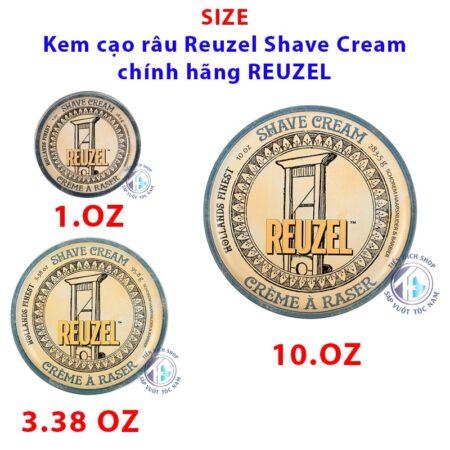 Size Kem cạo râu Reuzel Shave Cream