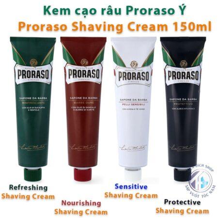 Kem cạo râu Proraso Shaving Cream Tube 150ml