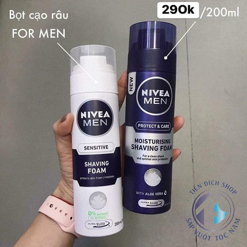Bọt cạo râu Nivea Men - Đức