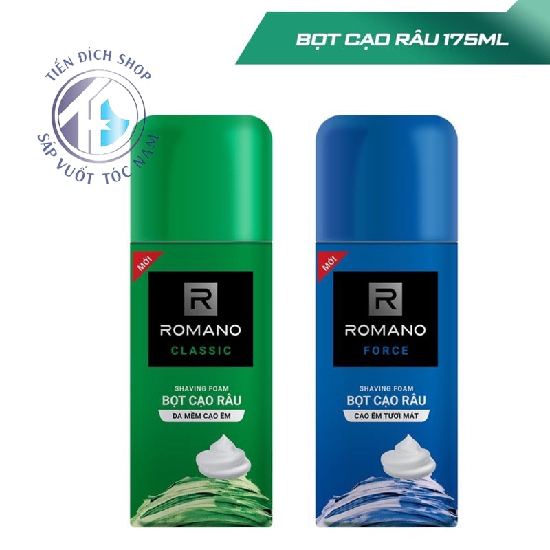 Bọt cạo râu Romano 175ml cho nam