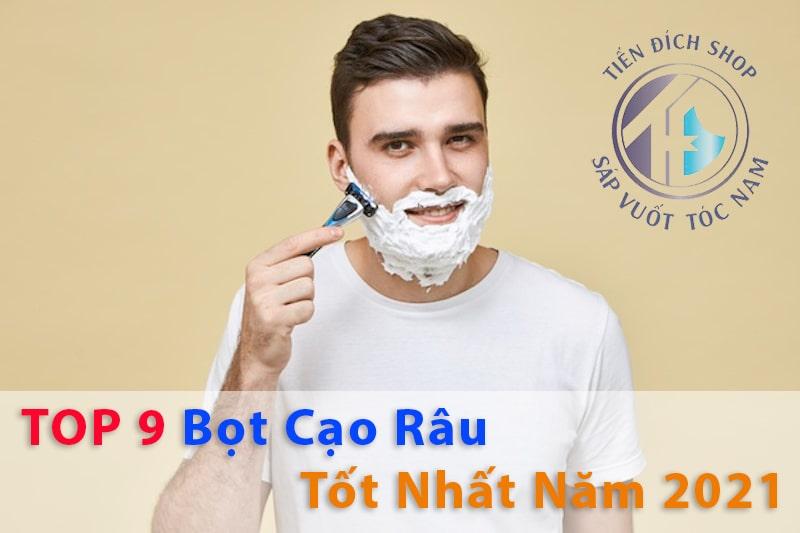 #FULL NAM GIỚI - TOP 9 Bọt cạo râu tốt nhất bán chạy năm 2021